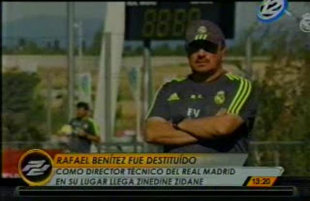 Rafael Benítez fue destituído como Director Técnico del Real Madrid