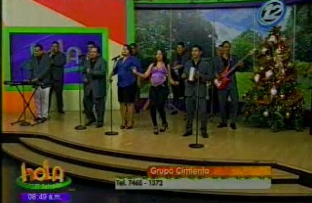 Baila al ritmo de la música del Grupo Cimiento