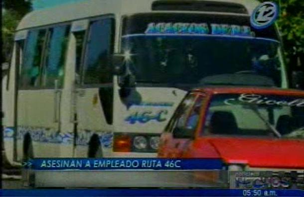 Despachador de buses fue asesinado en Mejicanos