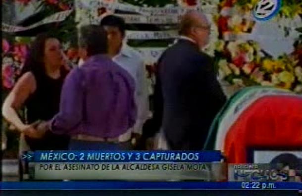 México: 2 muertos y 3 capturados por el asesinato de la alcaldesa Gisela Mota