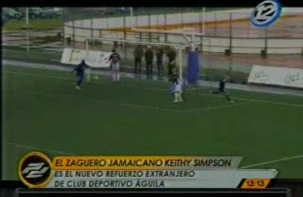 Club Deportivo Águila presenta a su nuevo fichaje