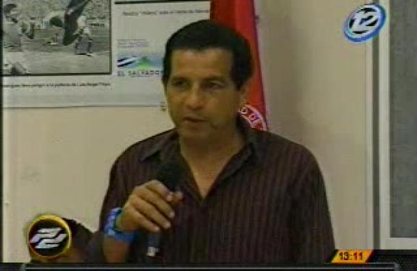 Este lunes fue presentado Edgar Heríquez como el nuevo técnico del C.D.U