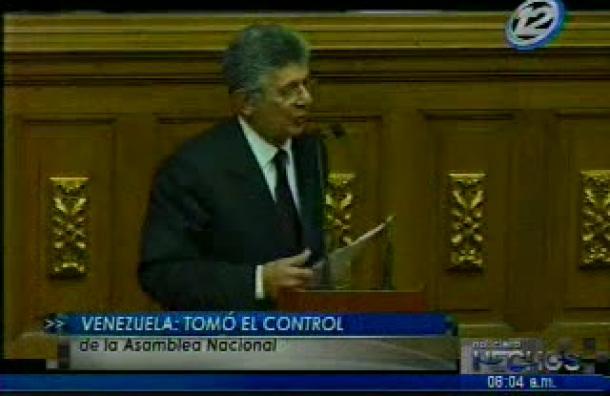 Venezuela: La oposición tomó el control de la Asamblea Nacional
