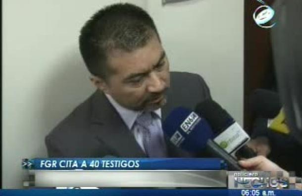 40 testigos fueron citados por la fiscalía para declarar sobre el Caso Flores