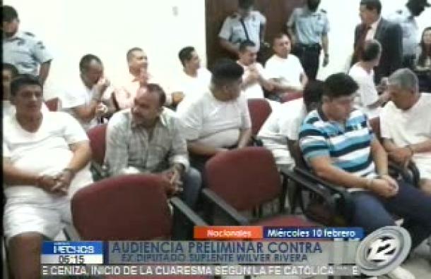 Audiencia preliminal contra Wilver Rivera