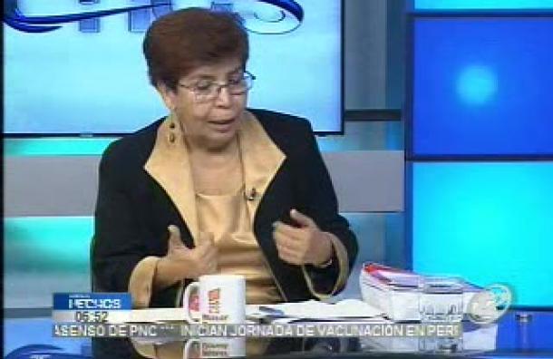 Mirna Perla: «Para muchos, la PNC, cumplió con bastante dilación la captura de los militares»