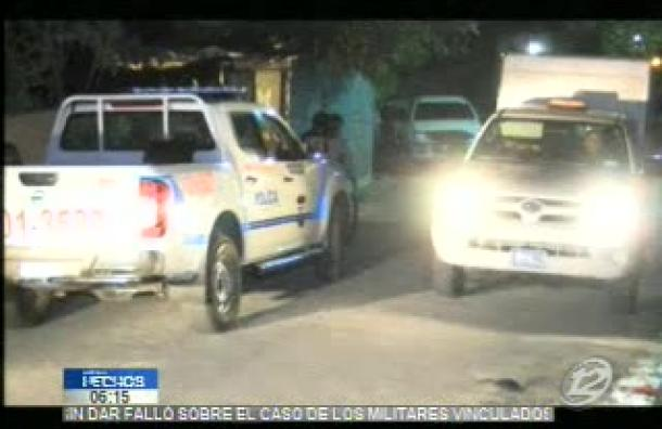 Una mujer de 28 años es asesinada en ciudad Delgado