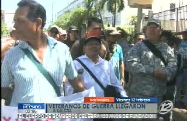 Veteranos piden que se castiguen los delitos cometidos en ataque armado