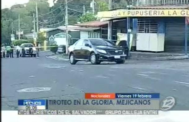 Dos pandilleros fueron capturados en Mejicanos