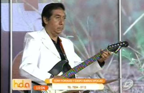 ¡Disfrutamos la música de Tony Portales!