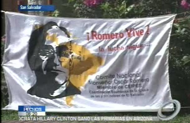Conmemoran 36 años del asesinato del Monseñor Óscar Arnulfo Romero