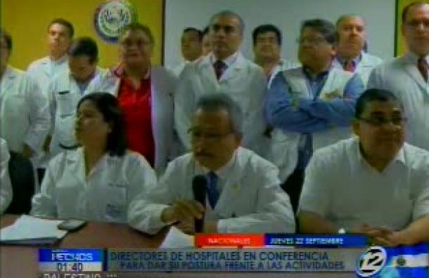 Directores de hospitales condenaron las acciones tomadas por sindicalistas