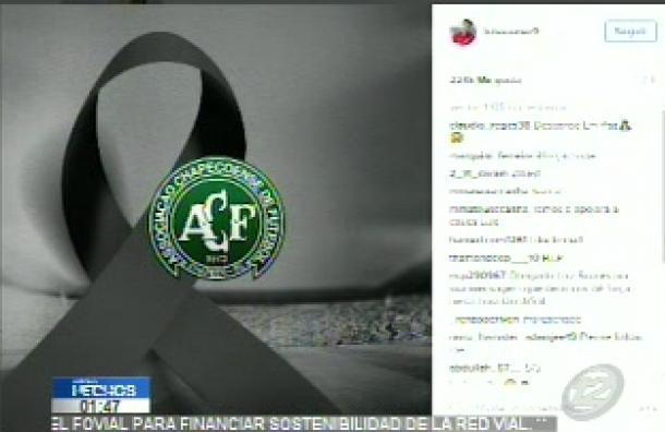 Estrellas del fútbol dieron sus condolencias tras el trágico accidente que afectó al Chapecoense