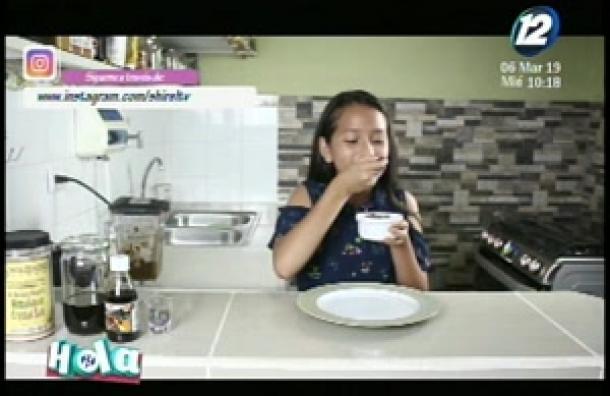 Shirel regresa con un excelente consejo para preparar mousse de chocolate