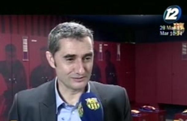 Ernesto Valverde sigue al frente del Barcelona