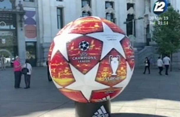 Aficionados han llegado a Madrid para la final de Champions League