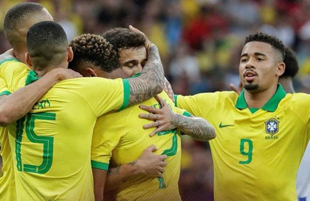 Selección de Brasil goleó por 7 a 0 a Honduras