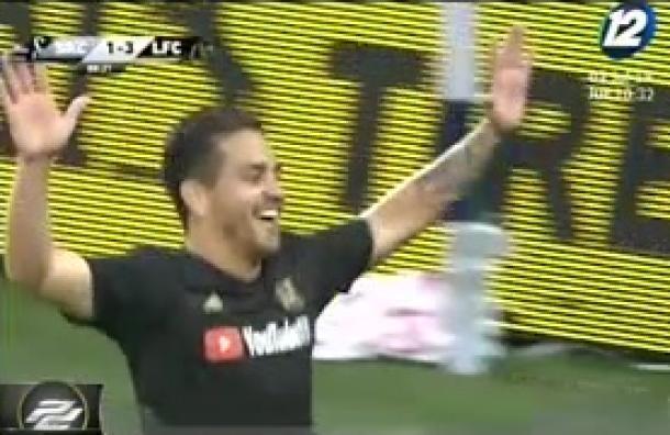 Fito Zelaya debuta como goleador en la MLS