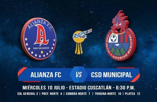 Alianza FC se enfrentará al Municipal de Guatemala por la Copa Premier