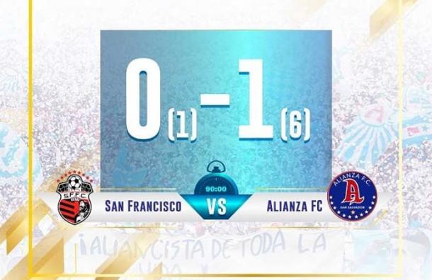 Alianza avanzó a los octavos de final de Liga Concacaf