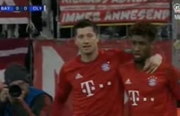 Bayern Múnich triunfa y avanza de ronda en la Champions