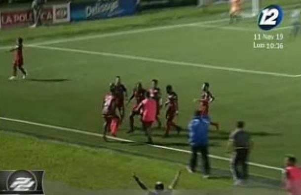 Santa Tecla e Independiente empataron a un gol