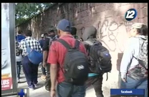 Piden medidas para desplazados por la violencia