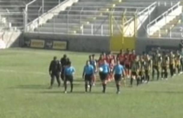 Club Deportivo Águila contra Independiente F.C. sin goles