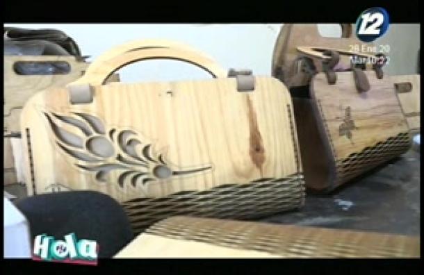 El arte en madera de Usulután
