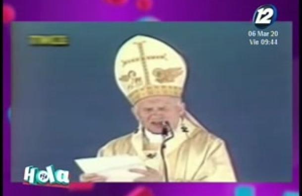 Recordamos la venida del papa Juan Pablo II en 1983