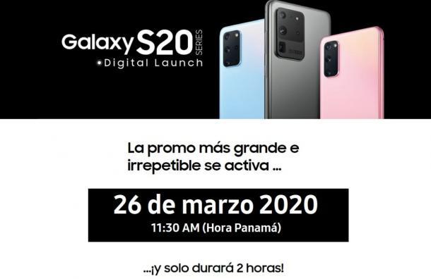 Únete al lanzamiento de Samsung Digital 2020