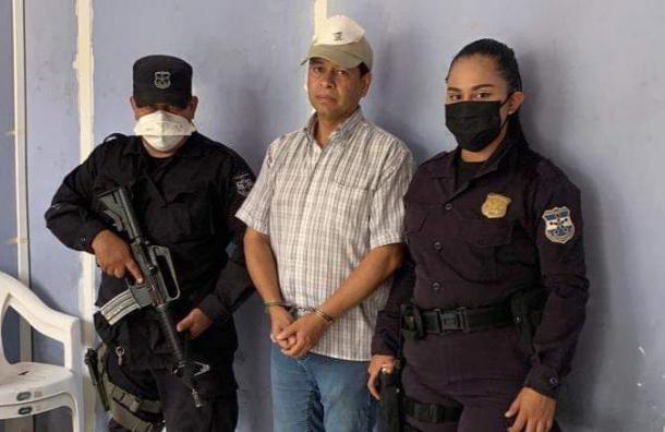 Capturan al alcalde de Panchimalco acusado de presunto hurto