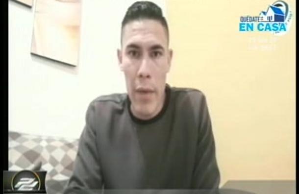 El delantero nacional Erick Alfaro comenta su experiencia en el fútbol de Bolivia