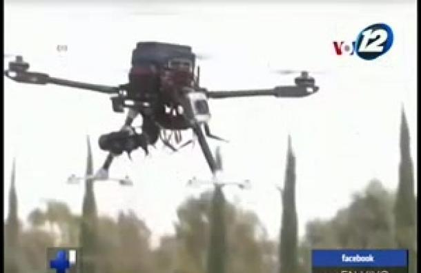 Un dron es considerado como el 'guardia de seguridad del futuro'
