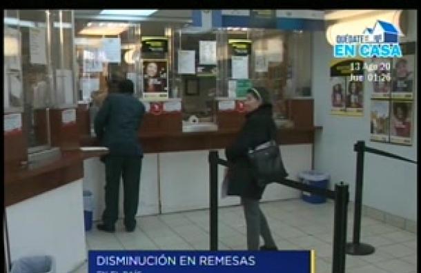 Se registró una disminución del 35% en las remesas