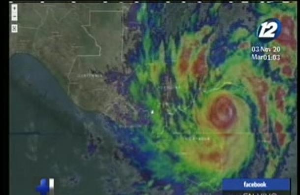 Seguimos la trayectoria del huracán Eta