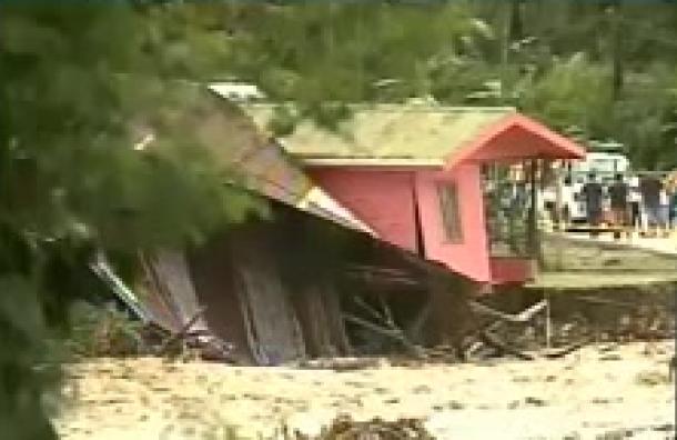 Tormenta Eta también generó estragos en Costa Rica